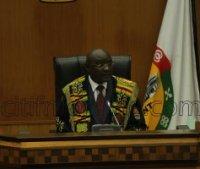 Doe Ajaho Speaker of Parliament