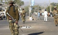 Nigeria military patrol