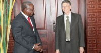 Bill Gates and Mahama