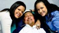 Hugo Chavez and children