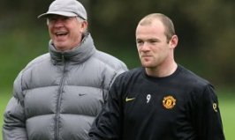 Wayne Rooney Alex Ferguson