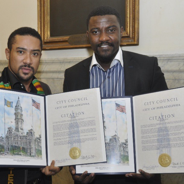 Dumelo and Majid Michel