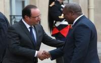 Mahama meets Hollande