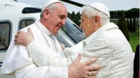 Pope Francis and Ex-Pope Benedict