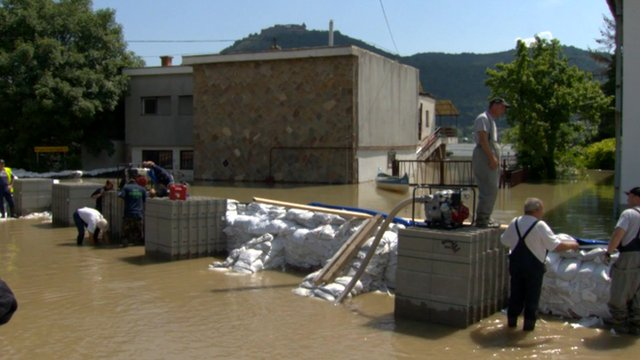 Thousands Flee: Flood-hit Parts Of Germany And Hungary