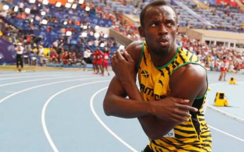 Usain Bolt Beats Justin Gatlin In IAAF World 100m Race in ...