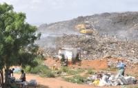 Refuse dump site