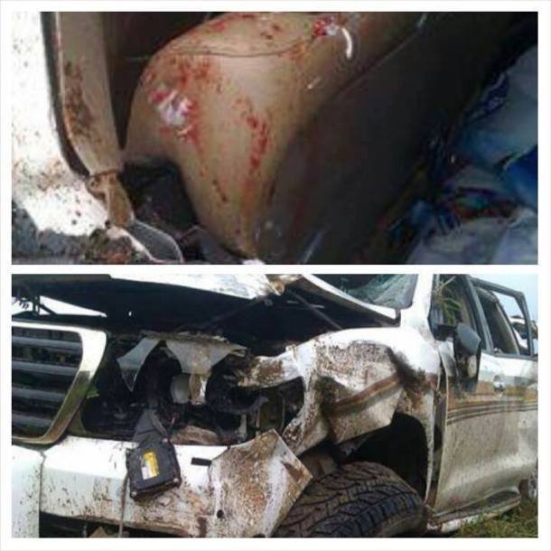 accident of Kwabena Agyapong