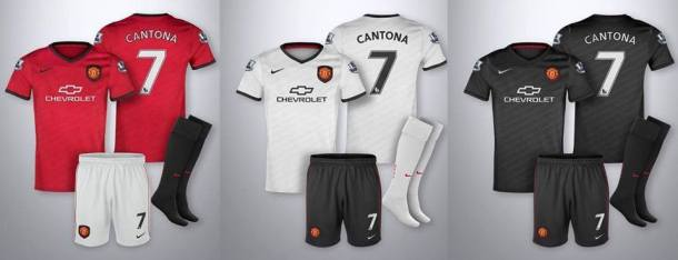 Manchester United 2014 2015 kit jersey