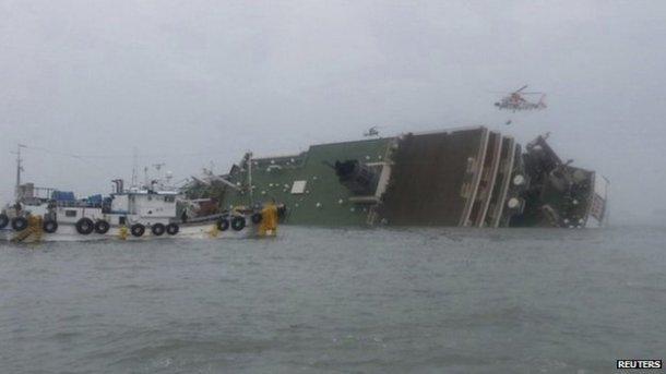S korea ferry capsize 1