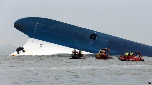 S korea ferry capsize