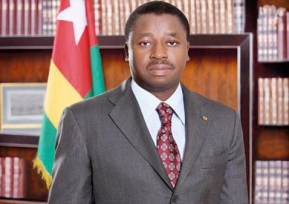 Togo President Faure Gnassingbe Arrives In Accra on guest house in accra ghana