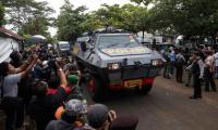 Arrest armour car