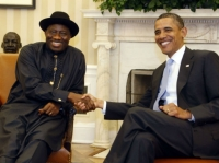 Obama and goodluck