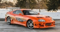 paul walker's fast and furious car