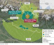 nepa earthquake map