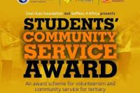 Community Service Awards