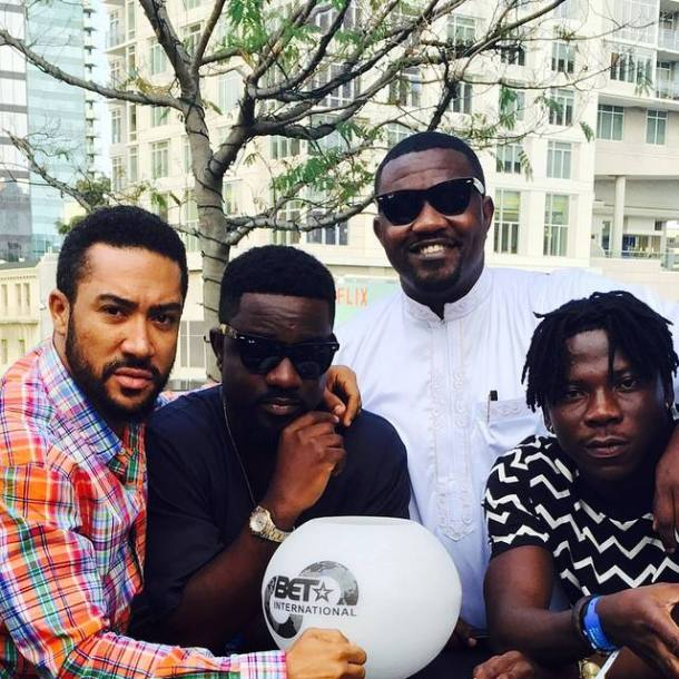 John Dumelo and BET nominees