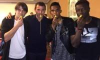 Samuel Eto'o and friends