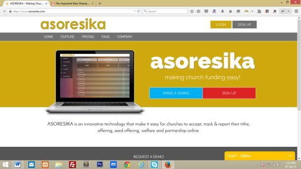 Asoresika Homepage