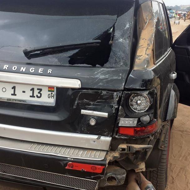 Funny Face car damage