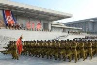 North Korea march
