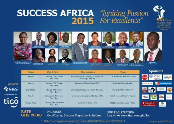 Success Africa 2015 a