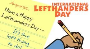 #LeftHandersDay: 5 Reasons why Being Left-handed is Great